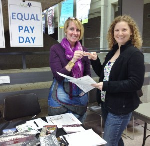 Equal Pay Day with Lyn Hildenbrand and Maureen Pylman